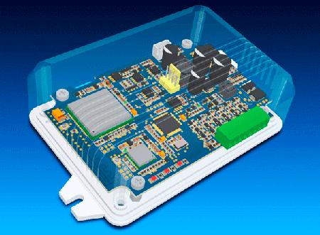 3D модель GPS tracker