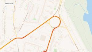 Высокая точность обработки координат системы GPS мониторинга транспорта ProfGPS